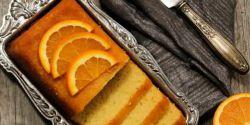 Bolo de natas e laranja. Uma delícia!
